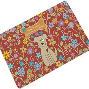 Other - OHYESS Rubber Non-Slip Lovely Dog Welcome Househol